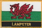 Lampeter Wales Cymru Town & City Embroidered Sew on Patch Badge
