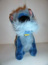 "DISNEY STORE JOCK LADY AND THE TRAMP DOG 13"" BLUE PLUSH"