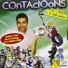CONTACTOONS Vol. 2 (CD + DVD +6 MP3 Gratis)