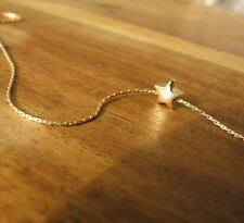 Star necklace, gold necklace, 14k gold filled, charm, small gold necklace, star