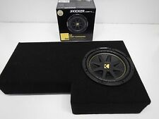 "2002 to 2013 Chevy Avalanche Subwoofer Box Enclosure 10"" sub Pick carpet color"