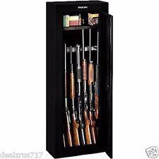 Gun Cabinet Safe Case Rack Rifle Shotgun Ammo Storage Box Hunting NEW Security