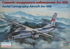 EASTERN EXPRESS 14472 AERIAL CARTOGRAPHY AIRCRAFT AN-30B MODEL KIT 1/144 NEW