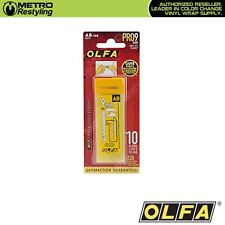OLFA AB-10B Carbon Tool Steel Blades 10/pk Vinyl Car Wraps Decals Sticker
