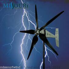 "Raptor G5™  5 blade 24/48 volt 2000 watt max wind turbine generator 33"" blades"