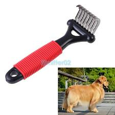 New Pet Dog Cat Grooming Self Cleaning Slicker Brush Comb Hair Fur Shedding VS2#