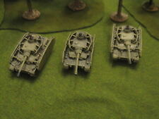 Flames of war - German Panzer IV tank platoon 15mm well painted