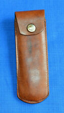 Military Leather HOLSTER CASE for pocket knife