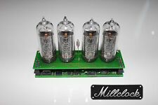 IN-14 NIXIE TUBE CLOCK ASSEMBLED WITH ADAPTER 4-tubes w/out enclosure retro