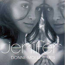 CD Single JENIFER Donne moi le temps Promo 1 track CARD