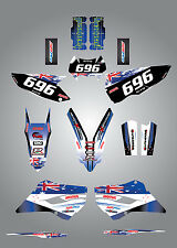 Full  Custom Graphic  Kit -AUSSIE PRIDE - Husaberg FE - TE 2013