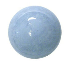 CARVED - BLUE LACE AGATE 18mm Crystal Ball (Sphere) w/ Description - Healing