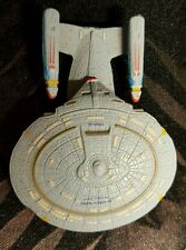 Star Trek Enterprise 1701 d con fundas directo-inscripciones Micro Machines raras