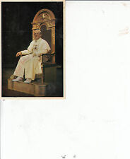 CYRIL CUSACK - LATE GREAT ACTOR - SUPERB SIGNED COLOUR POSTCARD OF HADRIAN VII