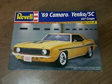 Revell 1/24 '69 Camaro Yenko 427 Coupe Muscle Car Great Condition Very Rare