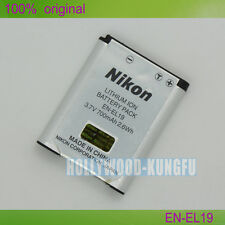 Genuine Nikon EN-EL19 Li-ion Battery for Nikon Coolpix S2500 S3100 S4100 Camera