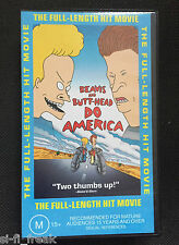 BEAVIS AND BUTTHEAD - DO AMERICA - VHS