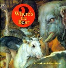 Where's the Bear?: A Look-and-Find Book (Getty Trust Publications: J. -ExLibrary