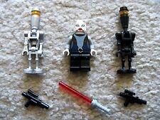 LEGO Star Wars Clone Wars - Rare Asajj Ventress & Assassin Droids - Excellent