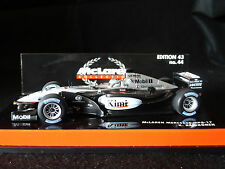 Minichamps 1:43 Kimi Raikkonen McLaren Mercedes MP4-17 # 4 F1 race car 2002
