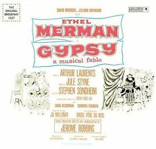 GYPSY Orig 1959 Broadway Cast CD Remastered w/ Bonus Tracks FACTORY-SEALED!