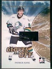 PATRICK KANE  07/08 AUTHENTIC SEAMED PIECE OF A GAME-USED GLOVE /10  ***SP***