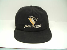Pittsburgh penguin hockey schwebels bread promo hat snapback embroidered logo
