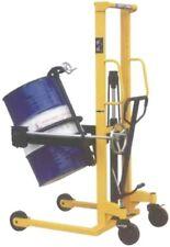Carrello Elevatore Sollevatore Manuale a Colonna Porta Fusti Portata Kg350 N1SFF