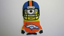 DESPICABLE ME MINION DENVER BRONCOS FOOTBALL PLAYER EMBROIDERED PATCH BADGE
