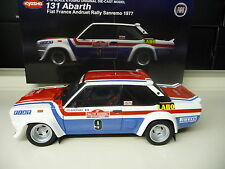 1:18 KYOSHO FIAT 131 Abarth Rally San Remo 1977 Andruet #9 NUOVO NEW