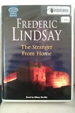 The Stranger From Home by Frederic Lindsay: Unabridged Cassette Audiobook (PP4)