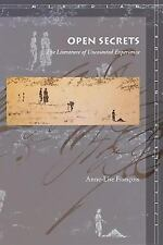 Meridian Crossing Aesthetics: Open Secrets : The Literature of Uncounted...