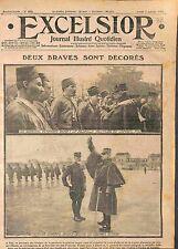 Général Révérard Médaille Militaire Tirailleurs Algériens Général Auger WWI 1915