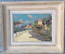 Lucien Potronat 1889-1974 Ec Fr Paysage Côte Esterel
