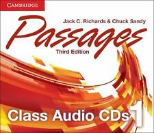 PASSAGES LEVEL 1 CLASS AUDIO CDS (3) 3RD EDITION by RichardsJack C. (2014,...