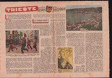 Free Territory Port Territorio libero di Trieste Italia Italy 1953 ILLUSTRATION