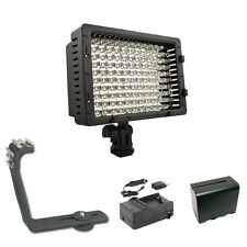 Pro LED 12 HD video light F970 for Canon XF305 XF300 XF105 XF100 XA25 XA20 XA10