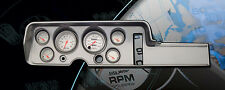 68 Pontiac GTO Brushed Alum. Dash w/ Ultra Lite Gauges