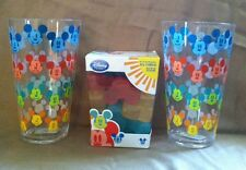 Mickey Mouse Summer Fun Collection Tumbler Ice Cube Set NEW BPA free Meal Time