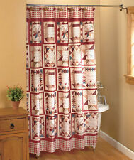 Inspirational Patchwork Shower Curtain Linda Spivey Country Bath Decor