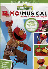 Sesame Street: Elmo the Musical, Vol. 2: Learn and Imagine (DVD, 2015) NEW