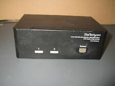 StarTech.com SV231DDVDUA 2-Port DVI VGA Dual Monitor KVM Switch USB2.0 & Audio
