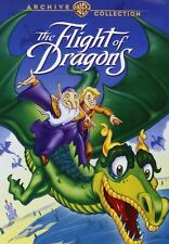 THE FLIGHT OF THE DRAGONS (1982 Animation)  DVD - UK Compatible - New & sealed