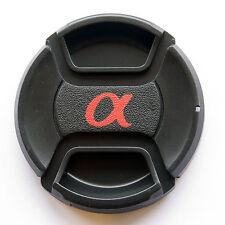 55mm Lens Cover Cap for Sony Alpha Minolta DSLR Camera Snap-clips UK stock New*