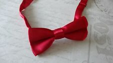 Childrens infant toddler boys red christmas outfit bow Tie photo prop wedding