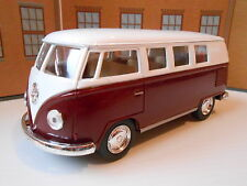 VW TOY CAMPER VAN STYLE CREW BUS GIFT (PULL BACK & GO) 1/32 Model Toy Car NEW!!