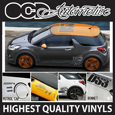 CITROEN DS3 C3 COMPLETE ROOF DASH SIDE PETROL CAP GRAPHICS DECALS STICKER KIT