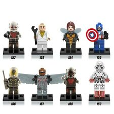 The Avengers Ant-Man 8 Action Mini figures Blocks Building Toys Kids Gift