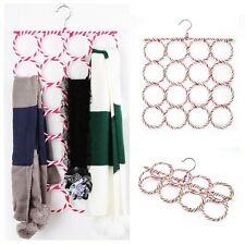 New 16 Holes Ring Rope Slots Rattan Weaving Folding Scarf Holders Hangers Hot SY
