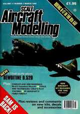 SCALE AIRCRAFT MODELLING MAGAZINE 1995 MAR BOEING B-17 IN THE 8TH AAF IN DETAIL